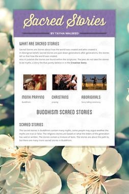 Sacred Stories