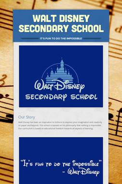 Walt Disney Secondary School
