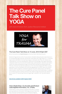 The Cure Panel Talk Show on YOGA
