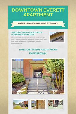 Downtown Everett Apartment