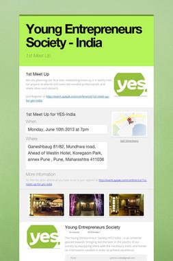 Young Entrepreneurs Society - India