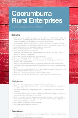 Coorumburra Rural Enterprises