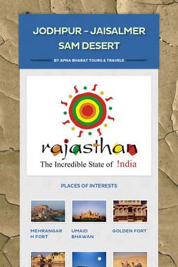 Jodhpur - Jaisalmer Sam Desert