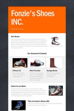 Fonzie's Shoes INC.