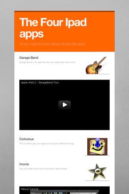 The Four Ipad apps