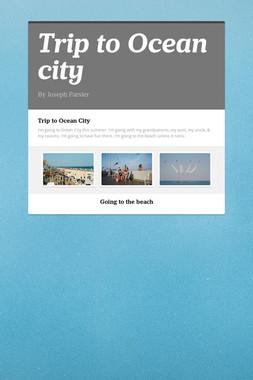 Trip to Ocean city