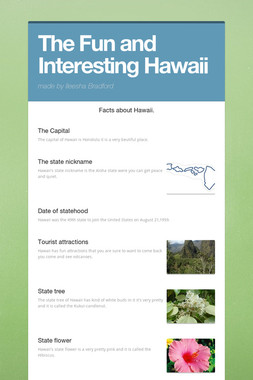The Fun and Interesting Hawaii