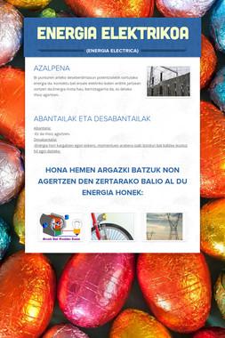 ENERGIA ELEKTRIKOA