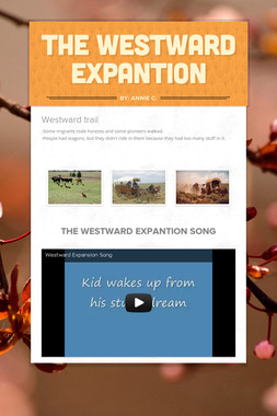 The Westward Expantion