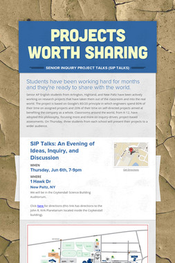 Projects Worth Sharing