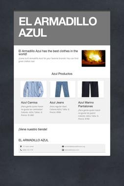 EL ARMADILLO AZUL