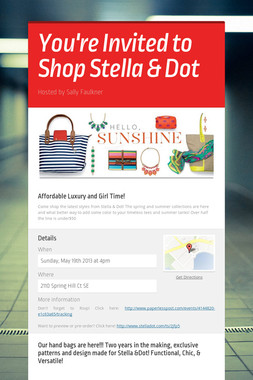 You're Invited to Shop Stella & Dot