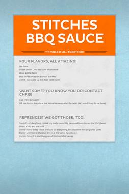 Stitches BBQ Sauce