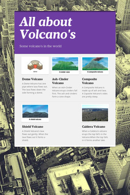 All about Volcano's