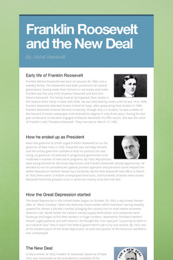 Franklin Roosevelt and the New Deal