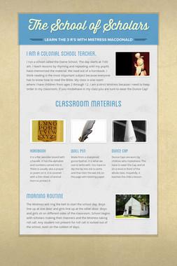 The School of Scholars