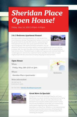 Sheridan Place Open House!