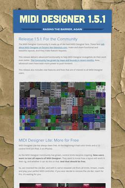 MIDI Designer 1.5.1