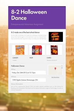 8-2 Halloween Dance