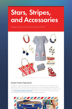 Stars, Stripes, and Accessories