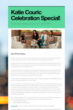 Katie Couric Celebration Special!