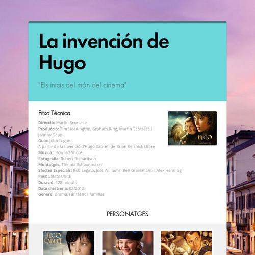 La invención de Hugo