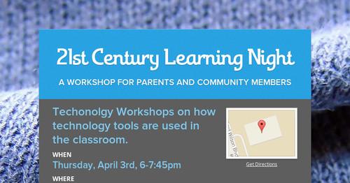 21st Century Learning Night