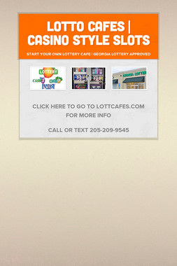 Lotto Cafes | Casino Style Slots