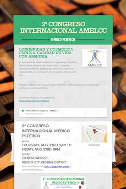 2º Congreso Internacional  AMELCC