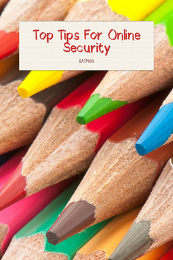 Top Tips For Online Security