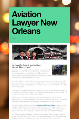 Aviation Lawyer New Orleans