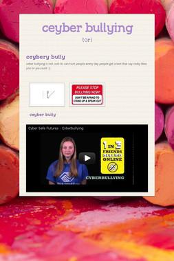 ceyber bullying