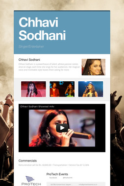 Chhavi Sodhani