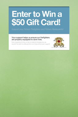 Enter to Win a $50 Gift Card!