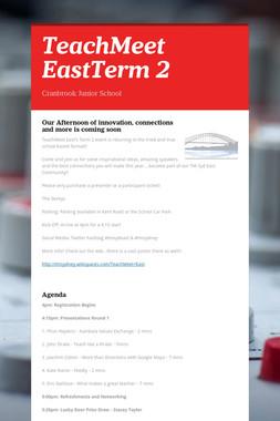 TeachMeet EastTerm 2