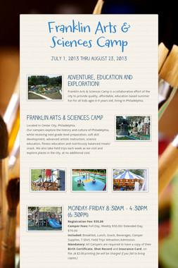 Franklin Arts & Sciences Camp