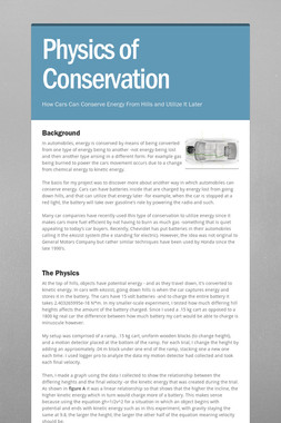 Physics of Conservation