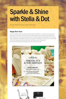 Sparkle & Shine with Stella & Dot