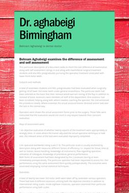 Dr. aghabeigi Birmingham