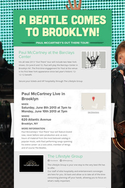 A Beatle Comes to Brooklyn!