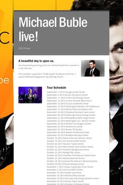 Michael Buble live!