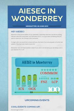 AIESEC in Wonderrey
