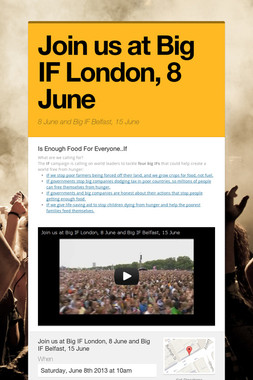 Join us at Big IF London, 8 June