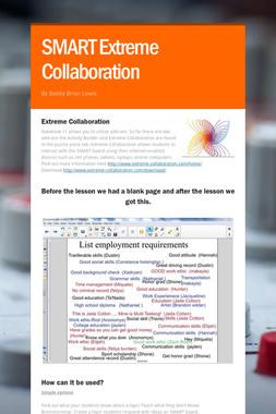 SMART Extreme Collaboration