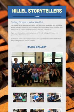 Hillel Storytellers