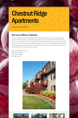 Chestnut Ridge Apartments