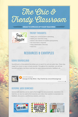 The Chic & Trendy Classroom