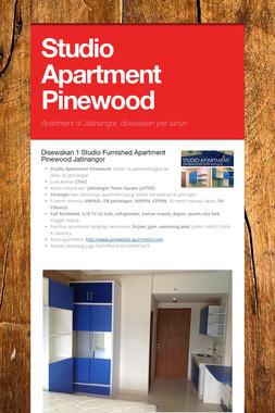 Studio Apartment Pinewood
