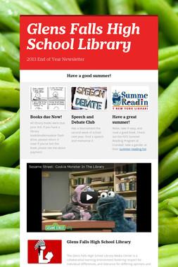 Glens Falls High School Library