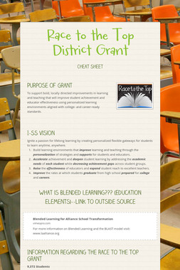 Race to the Top District Grant